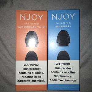Njoy Ace total of 4 pods new
